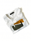 Áo Thun Thân Trước In Họa Tiết AT023 Màu Trắng
