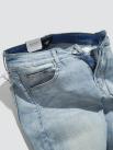 Quần Jeans Trơn Form Slimfit QJ017 Màu Xanh