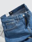 Quần Jeans Trơn Form Slimfit QJ021 Màu Xanh Biển