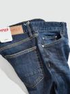 Quần Jeans Trơn Form Slimfit QJ021 Màu Xanh Đen
