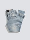 Quần Jeans Xước Form Slimfit QJ009 Màu Xanh