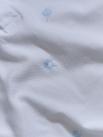 Polo Thêu HọaTiết ToànThân Màu Trắng PO036