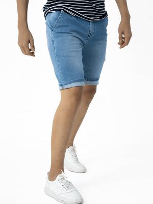 Quần Short Jean Lưng Thun QS202