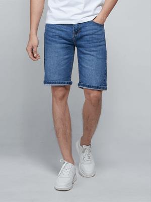 Quần Shorts Jeans QS007 Màu Xanh