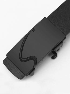 Thắt Lưng Khóa Tự Động TL046 Màu Đen