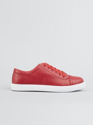 Giày Thể Thao Màu Đỏ G138