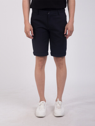 Quần Short Slimfit Màu Xanh Đen QS198