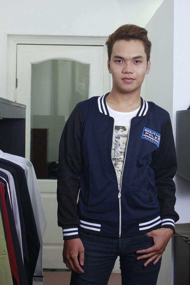 Áo khoác bóng chày k14 xanh đen - 3