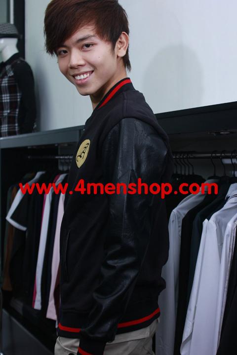 Áo khoác bóng chày k11 đen - 1