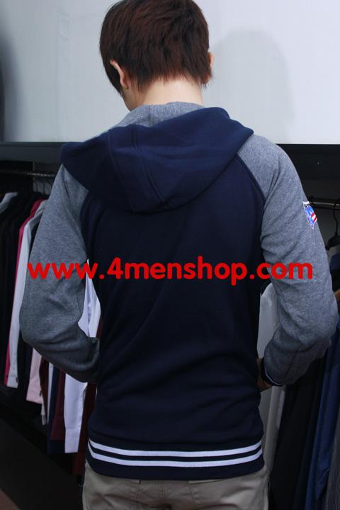 Áo khoác bóng chày k15 xanh - 1