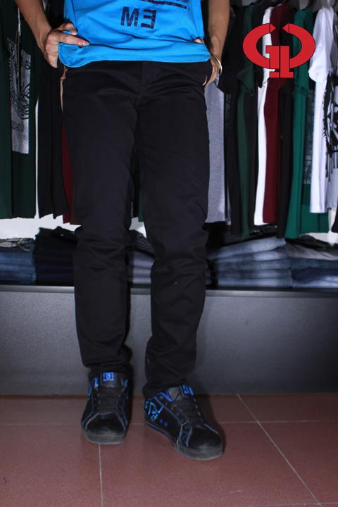 Quần kaki d02 đen - 5