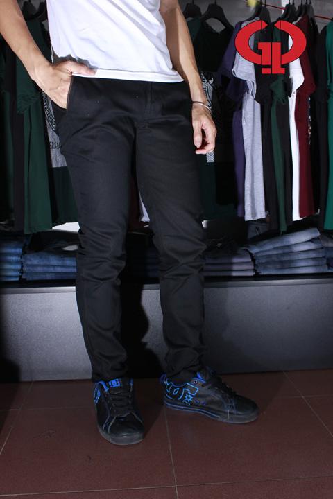 Quần kaki d04 đen - 4