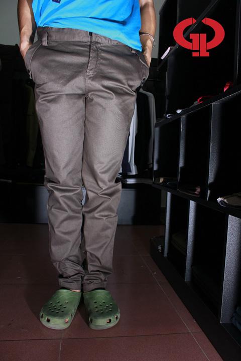 Quần kaki d05 xám - 1