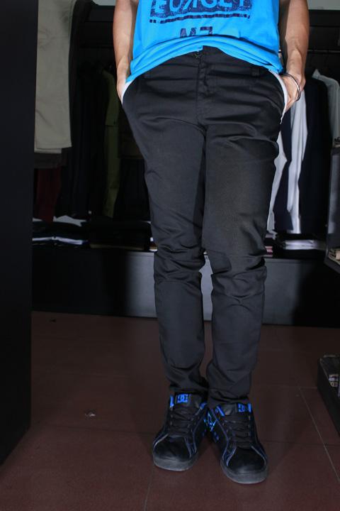 Quần kaki d79 đen - 5