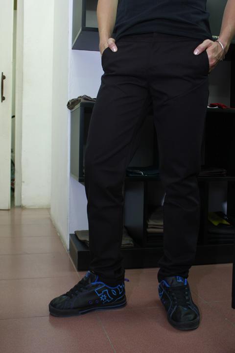 Quần kaki d80 đen - 3