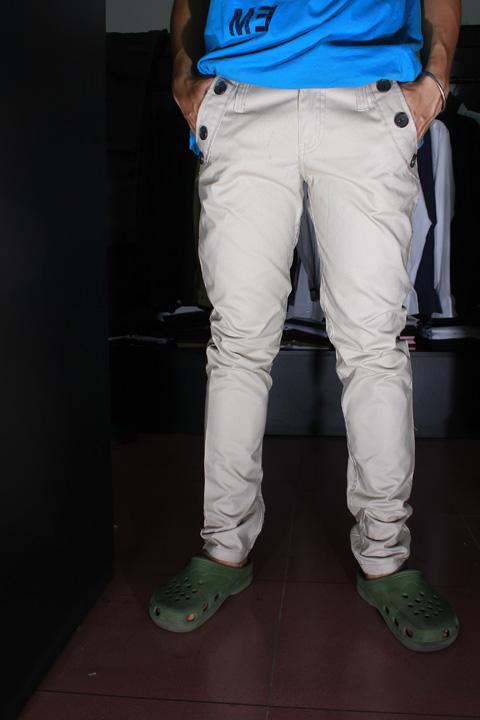 Quần kaki d84 kem - 3
