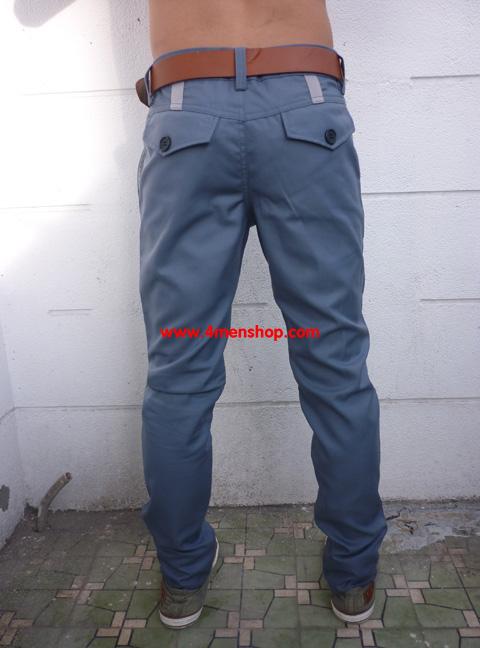 Quần kaki d94 xám xanh - 1
