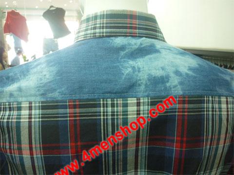 Sơ mi denim jeans s020 - 4