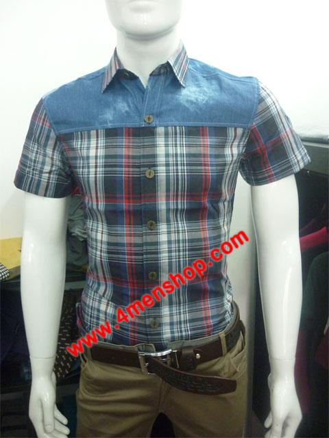 Sơ mi denim jeans s020 - 1