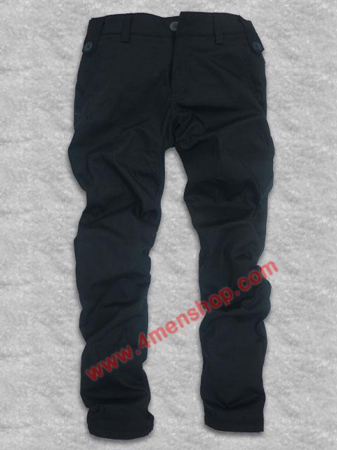 Quần kaki hàn quốc d014 đen - 1