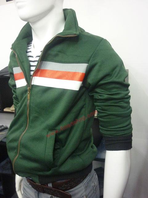 Áo khoác hàn quốc k35 xanh rêu - 2