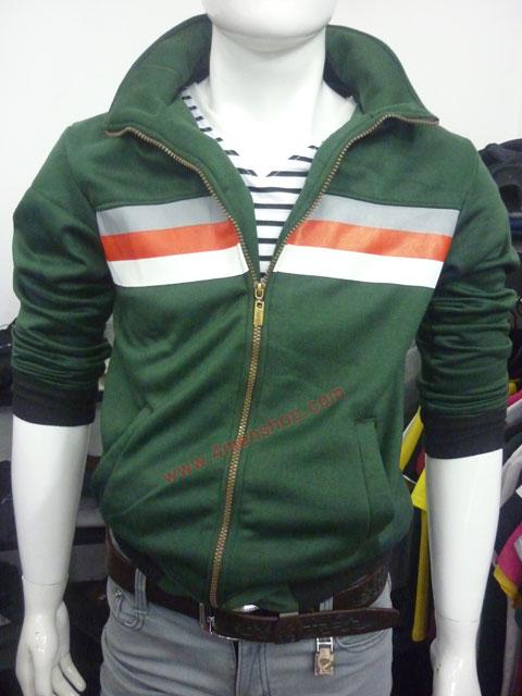 Áo khoác hàn quốc k35 xanh rêu - 1