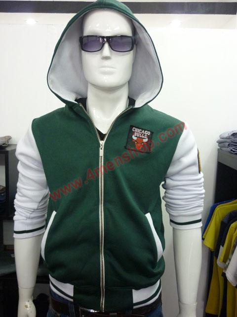 Áo khoác bóng chày k36 xanh rêu a - 1