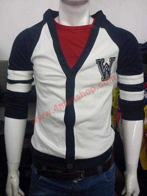 Áo khoác cadigan ac007 xanh đen - 1