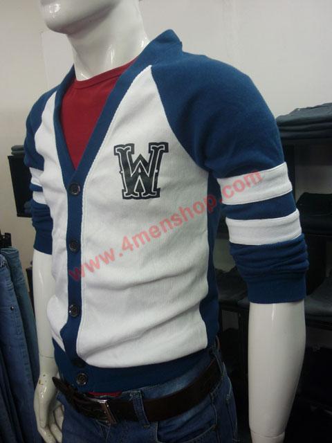 Áo khoác cardigan ac007 xanh dương - 2