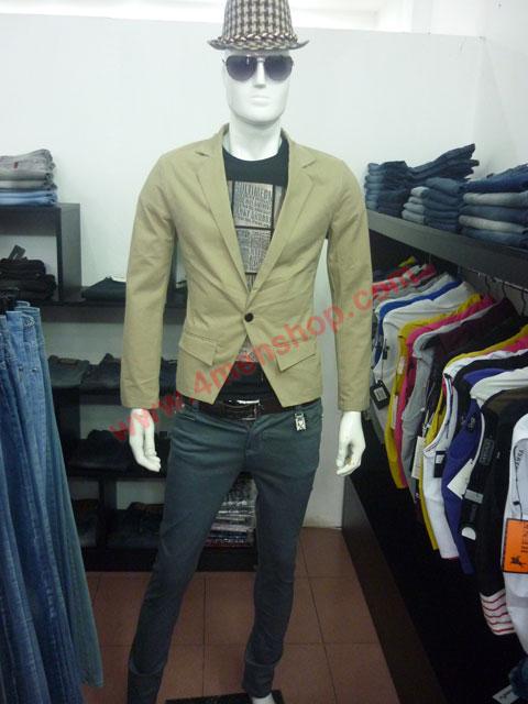Áo vest kaki v002 - 3