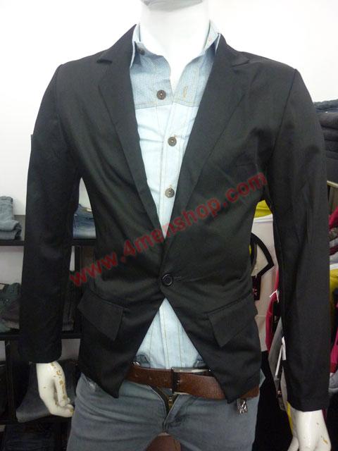 Áo vest kaki v003 đen - 1