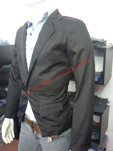 Áo vest kaki v003 đen - 2