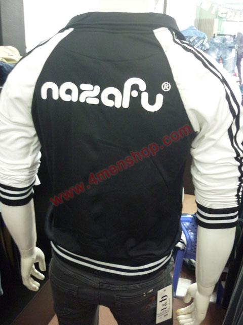 Áo khoác bóng chày nazafu k47 đen - 3