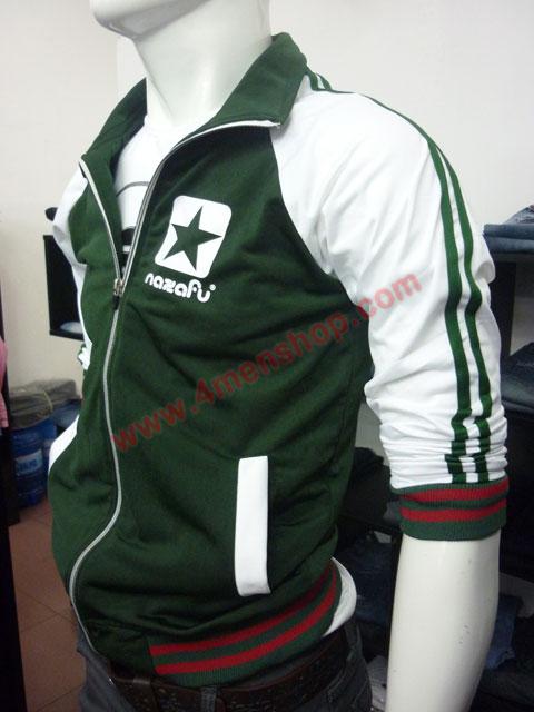 Áo khoác bóng chày nazafu k47 heineken - 2