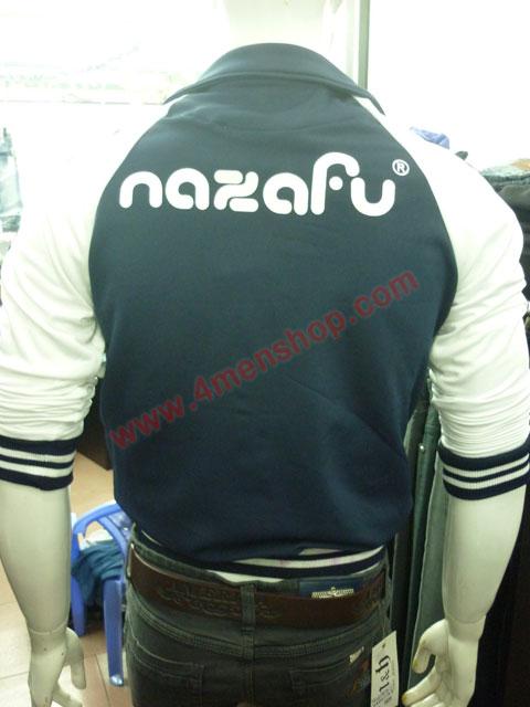 Áo khoác bóng chày nazafu k47 xanh đen - 3