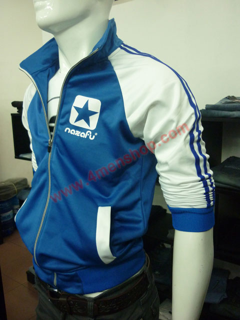 Áo khoác bóng chày nazafu k47 xanh dương - 2