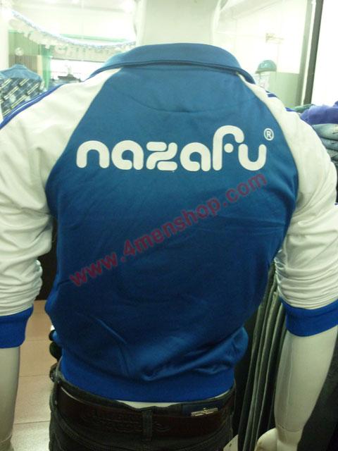 Áo khoác bóng chày nazafu k47 xanh dương - 3