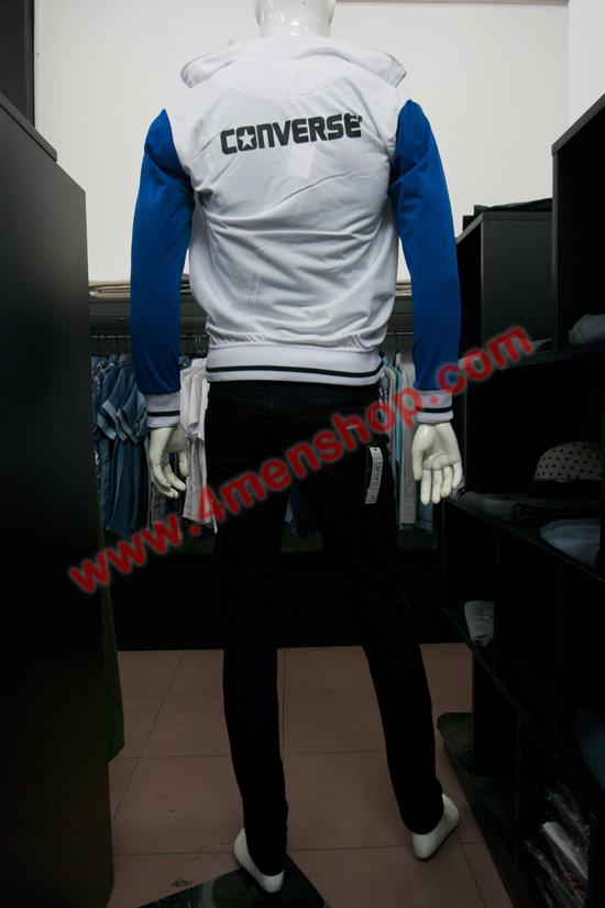 Áo khoác k 051 trắng xanh - 3