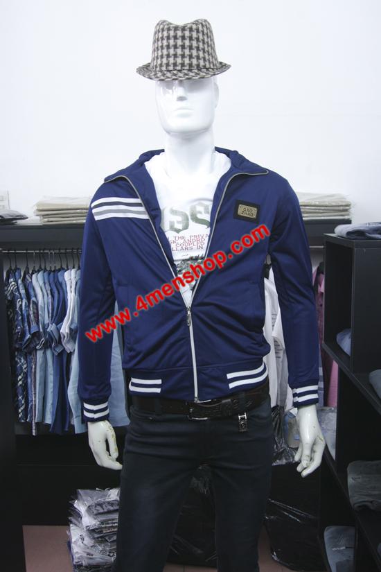 Áo khoác k0038 xanh đậm - 2