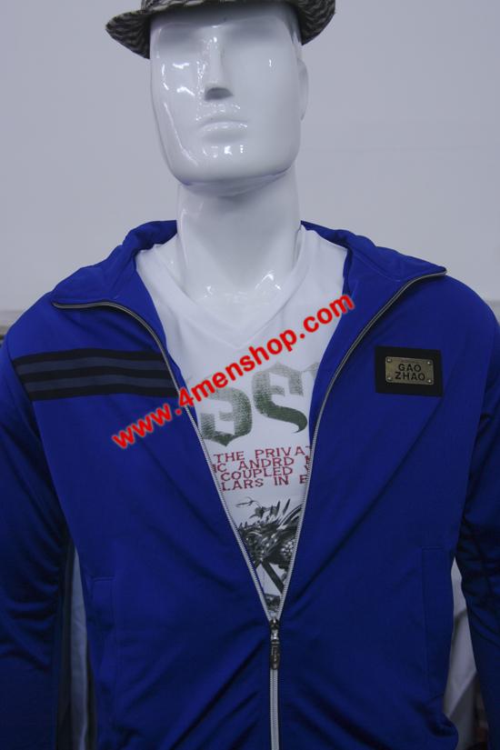 Áo khoác k0038 xanhnhạt - 4