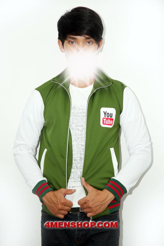 Áo khoác k050 xanh lá - 2