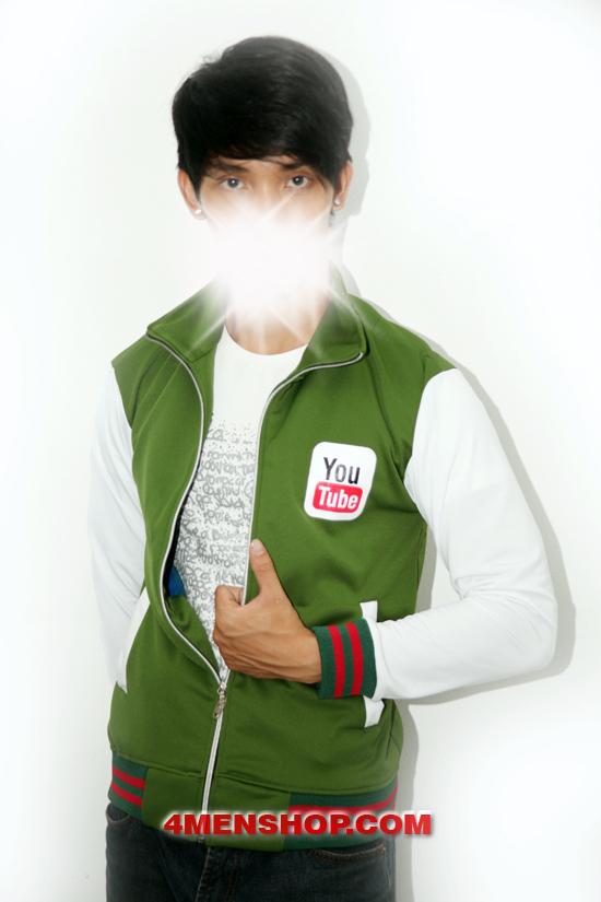 Áo khoác k050 xanh lá - 4