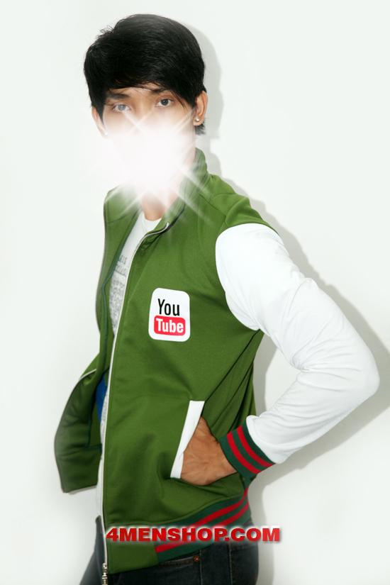 Áo khoác k050 xanh lá - 1