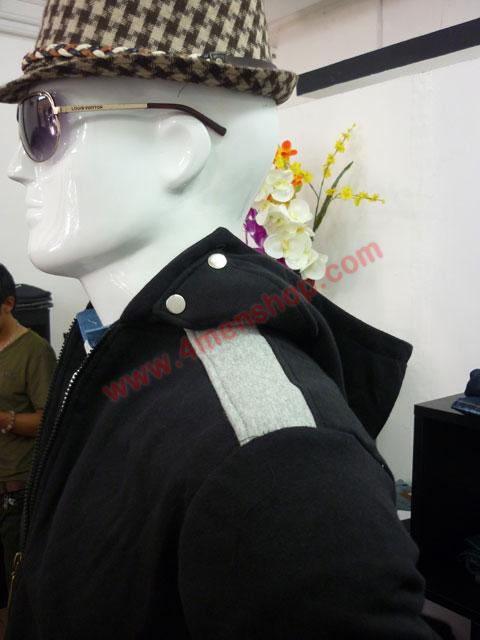 Áo khoác k44 đen - 2