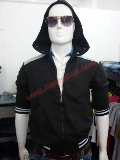 Áo khoác k44 đen - 1