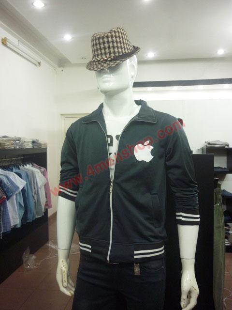 Áo khoác k49 đen - 1