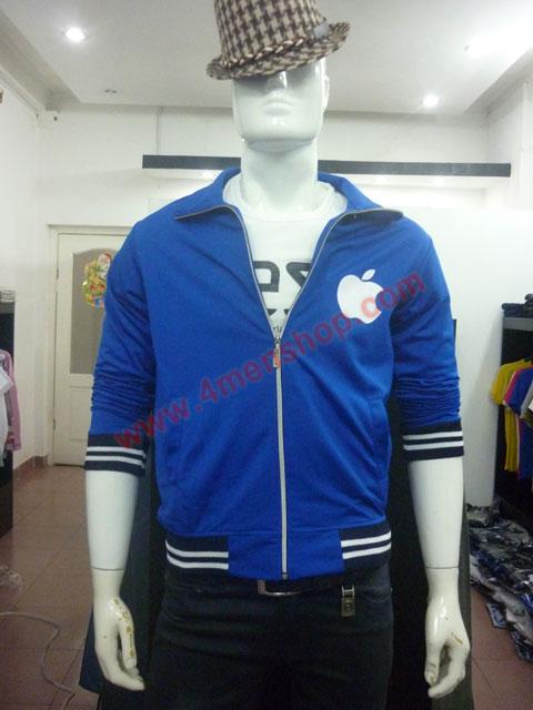 Áo khoác k49 xanh - 3