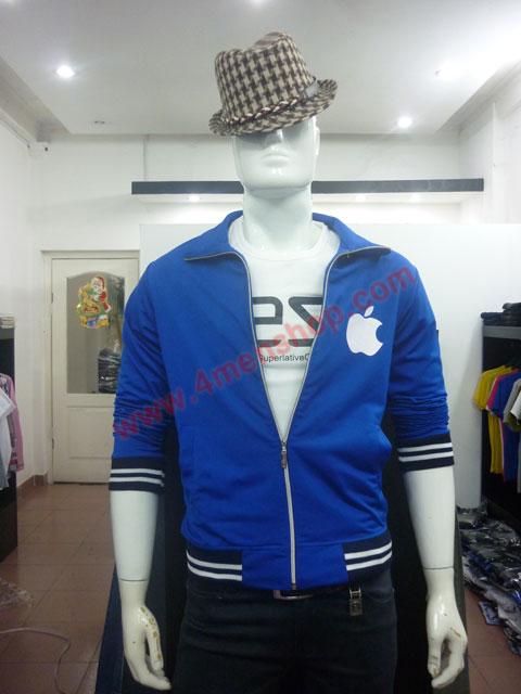 Áo khoác k49 xanh - 4