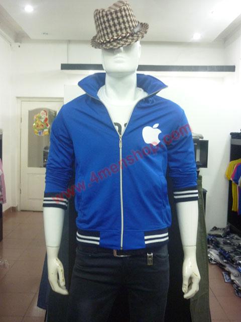 Áo khoác k49 xanh - 1