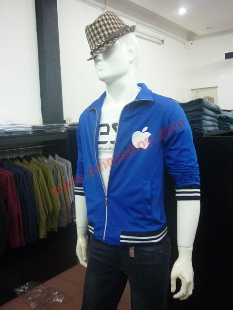 Áo khoác k49 xanh - 5